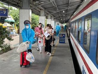 Chuẩn bị đón gần 3.000 công dân từ TP.HCM và các tỉnh phía Nam về Quảng Bình bằng tàu hỏa