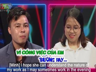 Cô gái đưa mẫu hình lý tưởng làm MC Quyền Linh và cả trường quay BMHH phát 'hoảng'