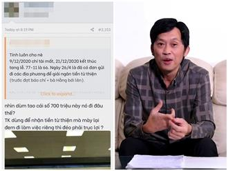 Dân mạng 'đu trend' truy lùng 'bằng chứng thép' bắt lỗi Hoài Linh 'nói dối' nhưng lại bị chửi... 'ngu'