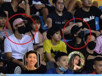 Đoàn Văn Hậu khiến fan bấn loạn khi 'dám công khai' tới sân vận động cùng bóng hồng của Hoa hậu Việt Nam