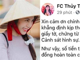Động thái của Thủy Tiên sau khi tỉnh Quảng Ngãi lên tiếng xác nhận số tiền 14 tỷ hỗ trợ bà con trong tỉnh