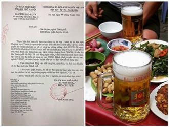 Hà Nội: Tạm dừng hoạt động quán bia, giải tỏa chợ cóc