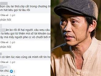 Bỗng lan truyền clip Hoài Linh kêu gọi từ thiện chống dịch Covid-19, netizen phát hiện ra điều bất thường