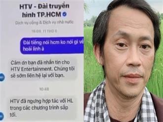 Nóng: Phía Hoài Linh chính thức phản hồi thông tin bị HTV 'cấm sóng'