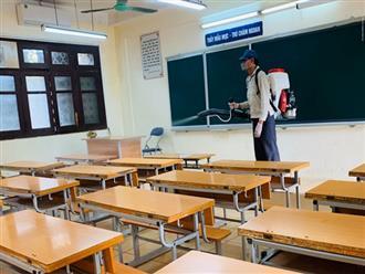 KHẨN: 4 địa phương cho học sinh nghỉ học vì có F0 liên quan tới trường học