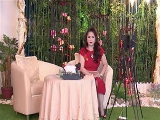Livestream giữa trưa, bà Phương Hằng lần đầu chia sẻ về tình hình sức khỏe, xin mọi người thông cảm vì điều này