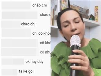 Xuất hiện clip Phi Nhung livestream hát cùng khán giả, phản ứng 'hỏi thăm' của fan mới là điều gây sốc