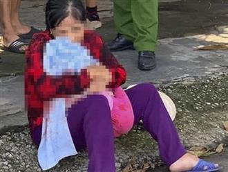 Nghẹn lòng bà ôm cháu 3 tuổi khóc thảm sau tai nạn giao thông: Sáng bà còn chở cháu đi sửa tivi, vừa vào nhà thì đã có chuyện không lành