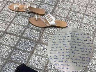 Mẹ trẻ để lại thư tuyệt mệnh rồi gieo mình xuống sông mất tích: 'Con gái xin lỗi chưa báo hiếu gì cho ba mẹ, nhờ ba mẹ chăm con giùm con'