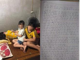 Tâm thư quặn lòng của người mẹ mắc bệnh hiểm nghèo ở Nghệ An: Đừng nói con tôi là mồ côi mà 'tội nghiệp hai đứa'
