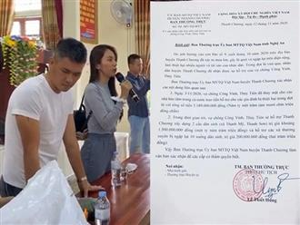 Sau Quảng Trị, chính quyền tỉnh Nghệ An tiếp tục lên tiếng về việc cứu trợ của ca sĩ Thủy Tiên trên địa bàn vào mùa mưa lũ