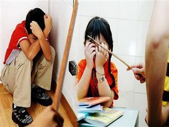 5 tác hại kinh hoàng khi dạy con bằng roi vọt, có những hành vi cướp luôn cả mạng sống con nhỏ