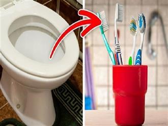 Nếu không muốn mang bệnh vào người thì không nên để những món đồ này trong phòng tắm