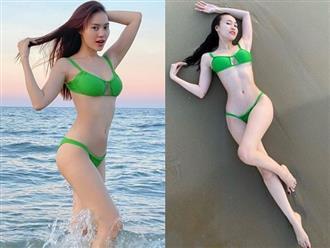 Ninh Dương Lan Ngọc khiến fan nam 'ĐỨNG NGỒI KHÔNG YÊN' khi 'ngọc nữ' thả dáng cùng body 'bỏng mắt'