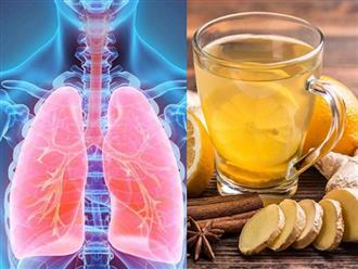 Top 4 loại đồ uống tốt cho phổi, uống đều đặn kéo dài còn ngăn ngừa các căn bệnh viêm nhiễm đường hô hấp