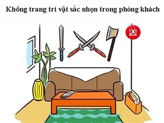 5 đại kỵ khi đặt vật sắc nhọn trong nhà mà ai cũng nên biết, kẻo phạm phải lại rước xui vào nhà, tiền mất tật mang