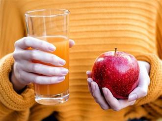 Mẹ bầu có nên uống nước ép táo hay không? Và đây là câu trả lời từ các chuyên gia