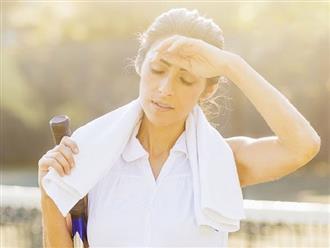 Nằm lòng cách sơ cứu khi bị say nắng và sốc nhiệt, hữu ích mà chẳng bao giờ thừa