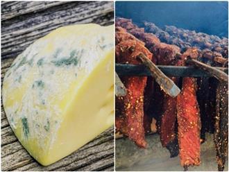 Ngỡ ngàng trước những loại thực phẩm đã lên nấm mốc xanh đỏ nhưng vẫn ăn được, có loại còn trở thành đặc sản nức tiếng