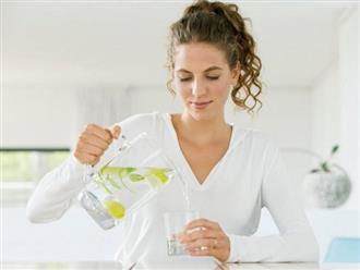 Những lợi ích không ngờ khi mẹ bầu thường xuyên uống nước chanh mỗi ngày trong lúc mang thai