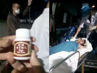 Cô gái trẻ tử vong thương tâm sau khi uống thuốc giảm cân không rõ nguồn gốc có nhãn chữ Trung Quốc