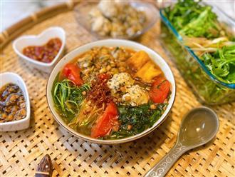 Mẹ đảm bật mí cách nấu bún ốc ngon đúng chuẩn Hà Nội: Thịt ốc dai giòn cùng nước dùng đậm đà 'ăn thật đã'