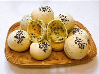 """Bánh mì mè Hàn Quốc, không cần nhồi bột, không men nở mà lại ngon 'quên sầu"""""""