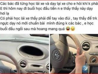 Bất ngờ trước lời tường trình của thầy giáo dạy lái xe bị 'tố' đụng chạm chỗ nhạy cảm của học viên