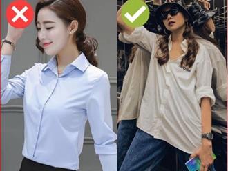 """Cách chọn áo sơ mi của Thanh Hằng ở tuổi U40: Chỉ mê một kiểu trẻ trung, """"tẩy chay"""" một kiểu lỗi mốt"""
