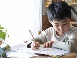 Dạy con chủ động làm bài về nhà cha mẹ không thể bỏ qua 11 điều này