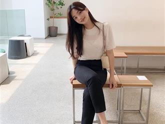 """Gái Hàn chuyên diện quần đen đơn giản nhưng luôn đạt điểm 10 sành điệu nhờ loạt cách mix """"cao tay"""""""