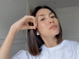 Hà Tăng cắt phăng mái tóc dài gắn bó nhiều năm, bùng nổ visual trở lại sau hơn 1 tháng vắng bóng khỏi MXH