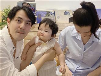 """Đông Nhi và Ông Cao Thắng mải miết chăm con, Winnie biểu cảm """"thánh meme"""" giật trọn spotlight cặp bố mẹ quyền lực"""