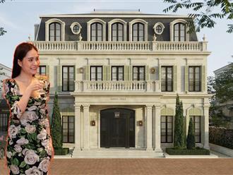 Ngắm nhìn biệt phủ phong cách hoàng gia của ca sỹ Đoàn Di Băng trị giá 400 tỉ đồng