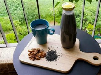 Có một loại sữa hạt đen sì nhưng nếu uống hàng ngày, da dẻ chị em sẽ hồng hào lên trông thấy, lại còn hỗ trợ giảm cân