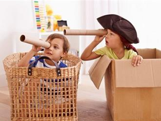 Tại sao cha mẹ nên khuyến khích con chơi trò tưởng tượng?