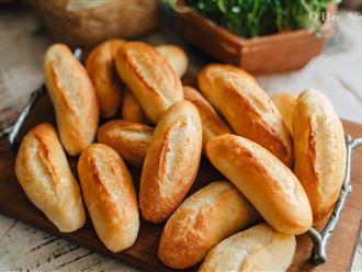 Cách làm bánh mì mini đặc ruột thơm ngon, giòn rụm, mẹ vụng đến mấy cũng thành công