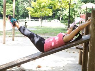 4 bài tập giúp bạn có eo thon, bụng phẳng lì không cần thuê huấn luyện viên