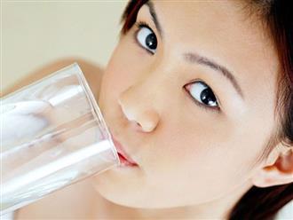 4 thời điểm vàng để uống nước trong ngày: Giúp thải độc, tăng lưu thông máu và làm đẹp da