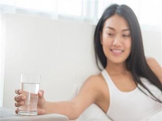 """Uống nước vào 6 thời điểm """"vàng"""" trong ngày để vừa đẹp da và tốt cho sức khỏe"""