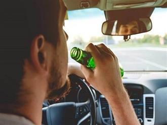 Vì sao lái xe khi uống rượu bia dễ gây nguy hiểm?