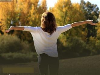 1 biểu hiện đặc trưng của người càng sống càng hưởng phúc dày, cuộc đời an yên, viên mãn
