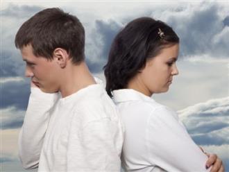10 kịch bản hôn nhân sắp tan vỡ