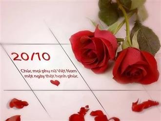 1001 lời chúc 20/10 dành tặng vợ, người yêu, crush ngọt ngào, lãng mạn nhất