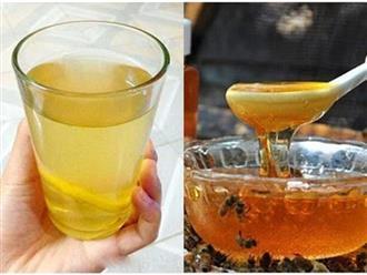 5 giờ vàng trong ngày uống mật ong: Thải hết độc tố nội tạng, chữa đau dạ dày, giảm cân