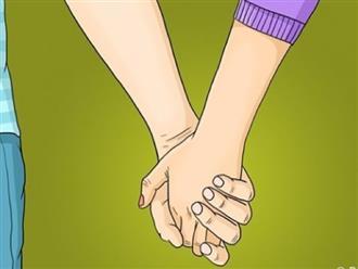 Cách nắm tay tiết lộ điều gì về tình yêu của hai bạn?