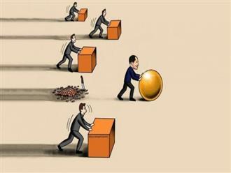 Đừng làm việc chăm chỉ hơn, hãy làm việc ít và thông minh hơn