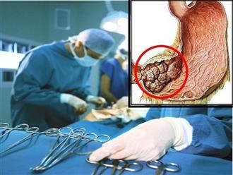 Giảm cân, đầy bụng, nôn, đi ngoài ra máu... là các dấu hiệu sớm ung thư dạ dày dễ bị bỏ qua