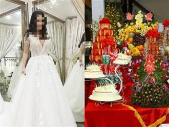 Lấy được chồng 'xịn', đặt váy cưới gần trăm triệu nhưng ăn hỏi xong cô dâu lại đăng đàn 'pass lại với giá bằng cốc trà đá' vì lý do cười ra nước mắt