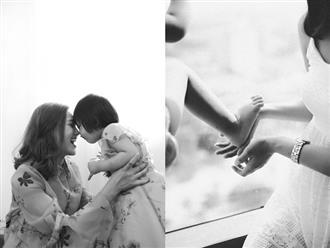 Cảm xúc của ngày đầu tiên làm mẹ đơn thân